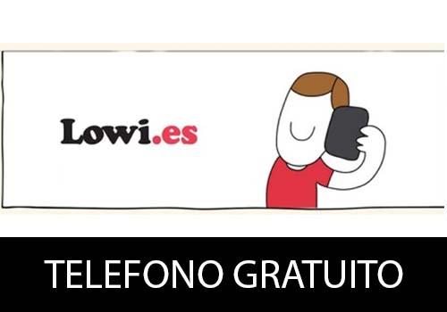 Teléfono gratuito de Lowi