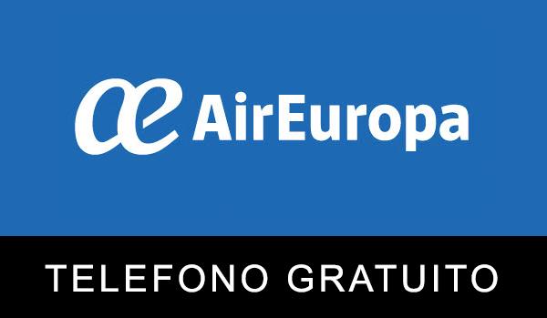 Teléfono gratuito de Air Europa
