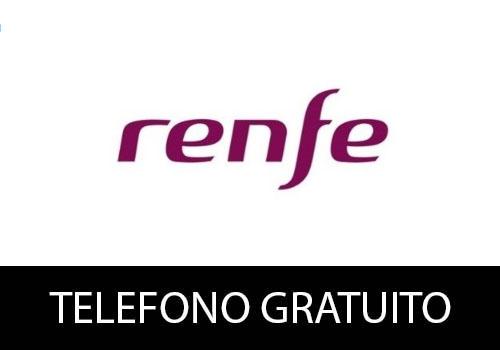 Teléfono gratuito de Renfe