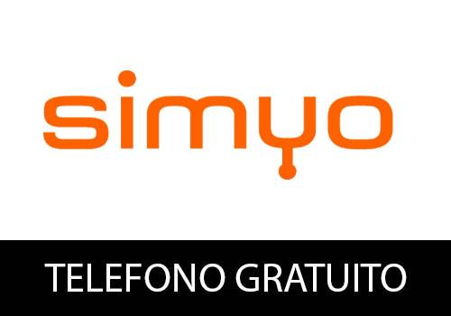 Teléfono gratuito de Simyo